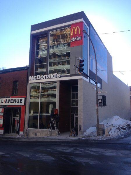 McDonalds - rue De la Montagne
